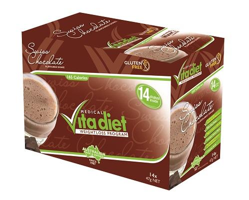 Vita Diet Swiss Chocolate Shakes x 14. Medical Vita Diet ...