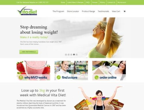 ALL NEW VitaDiet.com.au website